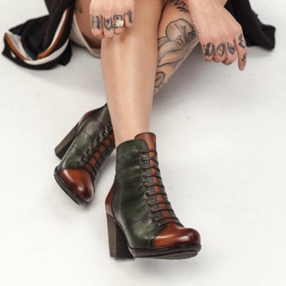Picture for category Lace up booties